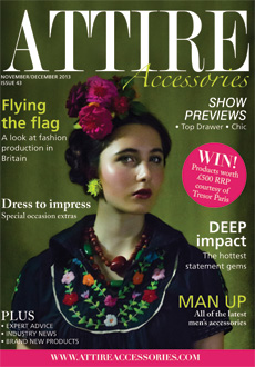 Attire Accessories November December 2013 Front Cover