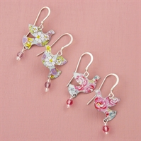 Picture of Dove & Crystal Earrings JE55