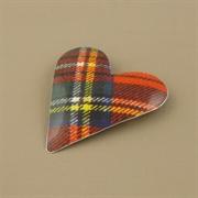 Picture of Tartan Heart Brooch