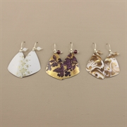 Picture of Christmas Butterfly Wing & Crystal Earrings