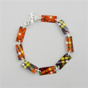 Picture of Tartan Rectangle Link Bracelet