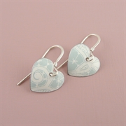 Picture of Summer Sorbet Round Heart Earrings