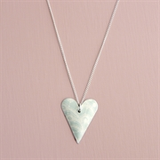 Picture of Summer Sorbet Slim Heart Necklace