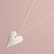 Picture of Summer Sorbet Medium Heart Necklace
