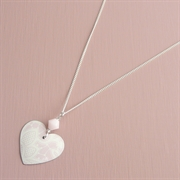 Picture of Summer Sorbet Round Heart & Crystal Necklace