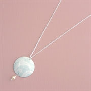 Picture of Summer Sorbet Disc & Pearl Necklace