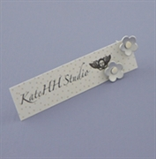 Picture of Aluminium Petite Flower Studs