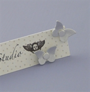 Picture of Aluminium Petite Butterfly Studs