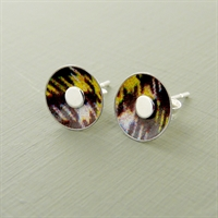 Picture of Tartan Small Round Studs