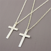 Picture of Silver Cross Necklace