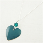 Picture of Emerald Heart Necklace