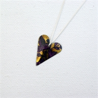 Picture of Gilt Slim Heart Necklace