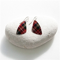 Picture of Tartan Butterfly Wing Earrings WT-E04