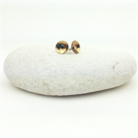 Picture of  Geo Gold Small Round Studs