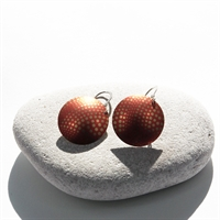 Picture of  Geo Orange Disc Earrings JE-51