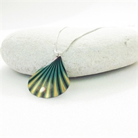 Picture of  Geo Green Shell Necklace JS8