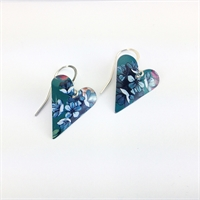 Picture of Jade Medium Heart Earrings