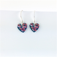 Picture of Jade Round Heart Earrings