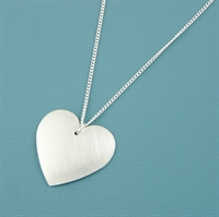 Picture of Aluminium Round Heart Necklace JS2-A
