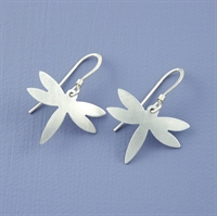 Picture of Aluminium Dragonfly Earrings