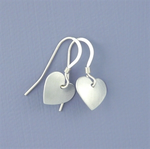 Picture of Aluminium Heart Earrings