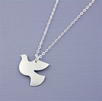 Picture of Aluminium Petite Dove Necklace JS20-A