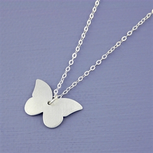 Picture of Aluminium Petite Butterfly Necklace JS21-A