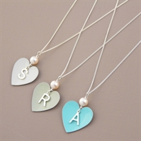 Picture of Personalised  Heart Pendant