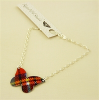 Picture of Tartan Large Butterfly Bracelet