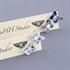 Picture of Denim Butterfly Studs JE80-de
