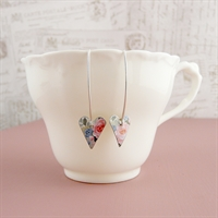 Picture of Valentine Small Slim Heart Earrings (Medium Earwire)