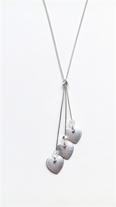 Picture of Aluminium Three Hearts Necklace