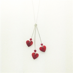 Picture of Three Hearts Necklace JS4B R