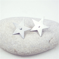 Picture of Aluminium Large Star Studs JE-11