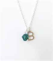 Picture of  Personalised  birthstone necklace