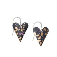 Picture of Kyoto Garden Medium Heart Earrings