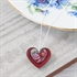 Picture of Peony Double Heart Necklace