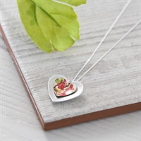 Picture of Blossom Double Heart Necklace