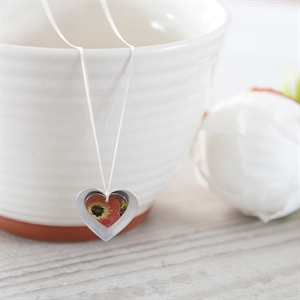 Picture of Poppy Double Heart Necklace