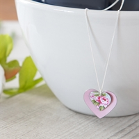 Picture of Carnation Double Heart Necklace