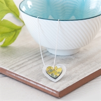 Picture of Primrose Double Heart Necklace