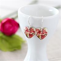 Picture of Blossom Round Heart Earrings