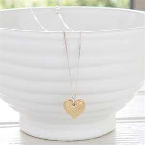 Picture of Small Brass Heart Necklace