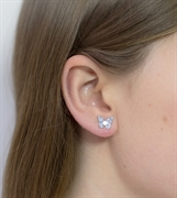 Picture of Scandi Grey Butterfly Studs