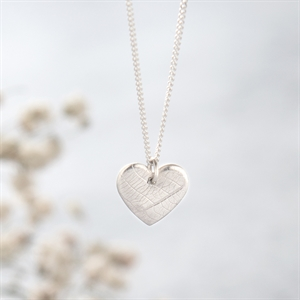 Picture of Tiny Silver Heart Necklace