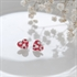Picture of Daisy Red Heart Studs