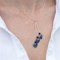 Picture of Forget Me Not Three Hearts Necklace