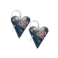 Picture of Jasmine Medium Heart Earrings