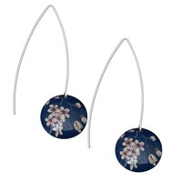 Picture of Jasmine Long Disc Earrings