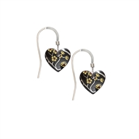 Picture of Willow Small Heart Earrings